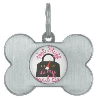 Hot Stuff Bag Pet Tag