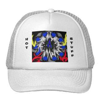 HOT, STUFF CAP TRUCKER HAT