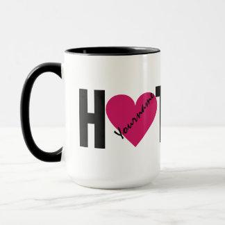 """HOT STUFF"" custom mugs"