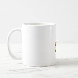 Hot Stuff Hot Pepper Photograph With Text mug