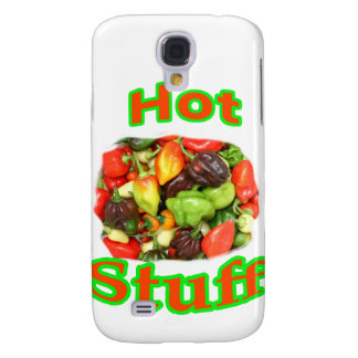 Hot Stuff Hot Pepper Photograph With Text Samsung S4 Case