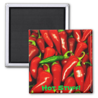 """""""Hot Stuff!"""" magnet by Zoltan Buday"""
