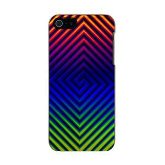 Hot Stuff Pattern Metallic iPhone SE/5/5s Case