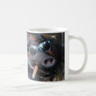 Hot Stuff Pig Coffee Mug