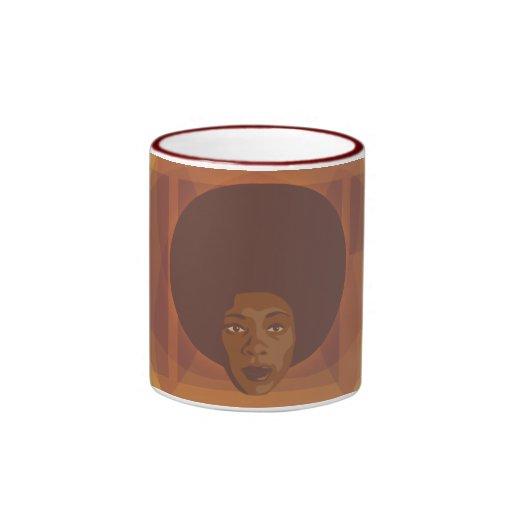 Hot Stuff Ringer Mug
