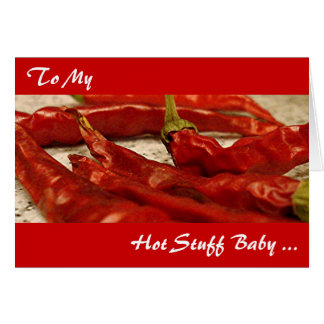 Hot Stuff Valentine's Day Card