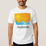 Hot Summer Background Shirts