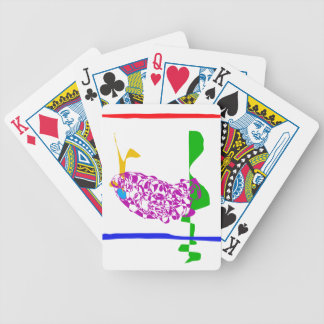 Hot Summer Bicycle Playing Cards