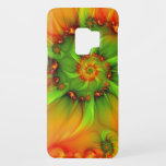 "Hot Summer Green Orange Abstract Colorful Fractal Case-Mate Samsung Galaxy S9 Case<br><div class=""desc"">Colors and shapes for your wall and many other things. Not only in summer.