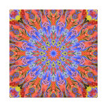 hot summer kaleidoscope canvas print
