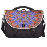 hot summer kaleidoscope laptop bag
