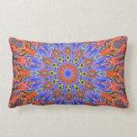 hot summer kaleidoscope pillow
