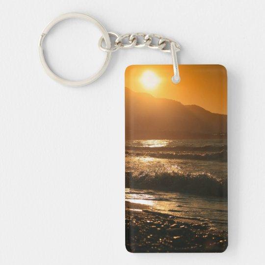 Hot Summer Morning Keychain