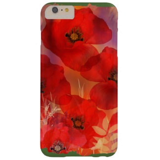 Hot summer poppies barely there iPhone 6 plus case