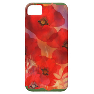 Hot summer poppies iPhone SE/5/5s case