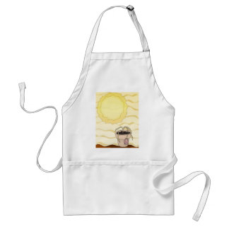 Hot Summer Sun Adult Apron