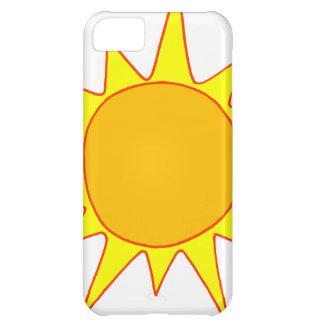 Hot Sun Cartoon iPhone 5C Cover