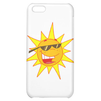 Hot Sun Cartoon Character Case For iPhone 5C
