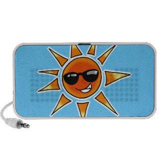 Hot sun summer travel speakers