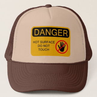 HOT SURFACE TRUCKER HAT