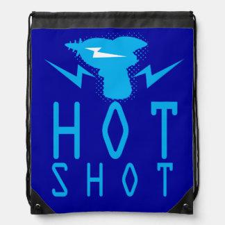 Hot Swag: Blue Drawstring Bag