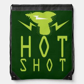 Hot Swag: Green Drawstring Bag