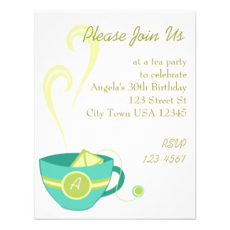 Hot Tea Invite