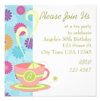 Hot Tea Invitation
