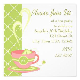 Hot Tea Invitations