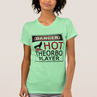Hot Theorbo Player Shirt