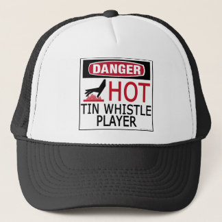 Hot Tin Whistle Player Trucker Hat