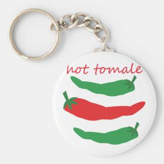 Hot Tomale Basic Round Button Keychain
