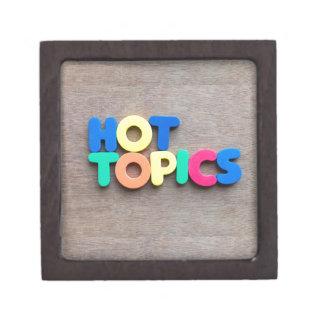Hot topics premium keepsake box