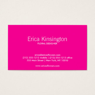 HOT TROPICAL Business Card