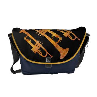 Hot Trumpets Courier Bag