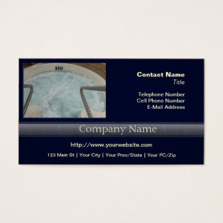 Hot Tub Business Card