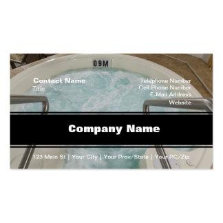 Hot Tub Business Card