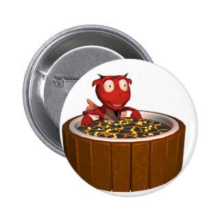 Hot Tub Demon Pin
