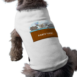 Hot Tub Dogs Doggie TShirt