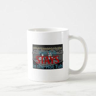 Hot Tub Classic White Coffee Mug