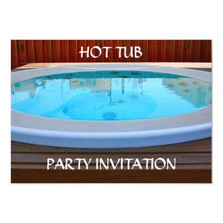 Hot Tub Party Invitation