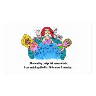 Hot Tub Women Business Card
