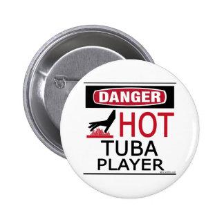 Hot Tuba Player Button