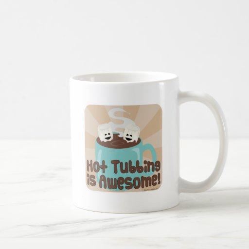 Hot Tubbing Marshmallows Classic White Coffee Mug