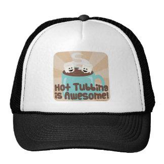 Hot Tubbing Marshmallows Hats