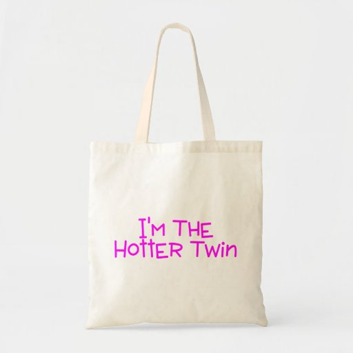 Hot Twin Budget Tote Bag