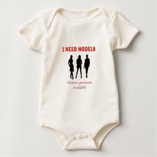 Hot underwear models baby bodysuit