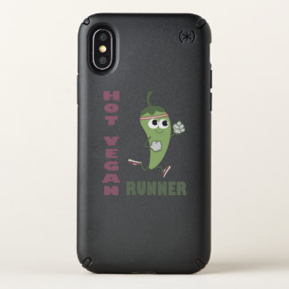 Hot Vegan Runner Speck iPhone X Case