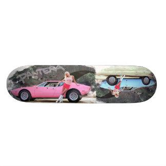 Hot Vintage Sports Car Skateboard Deck