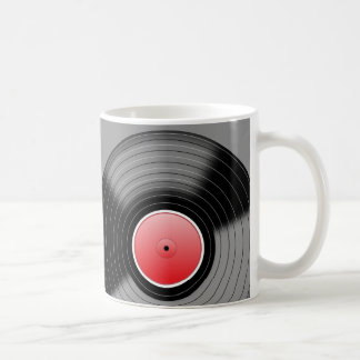 Hot Vinyl Drinks Mug Basic White Mug